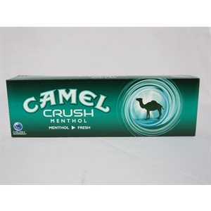 CAMEL CRUSH MENTHOL BOX KING