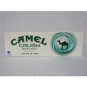 CAMEL CRUSH MENTHOL SILVER BOX