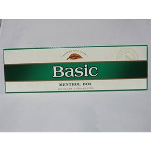 BASIC MENTHOL BOX KING