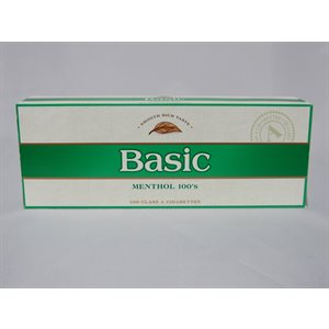BASIC MENTHOL GOLD BOX 100