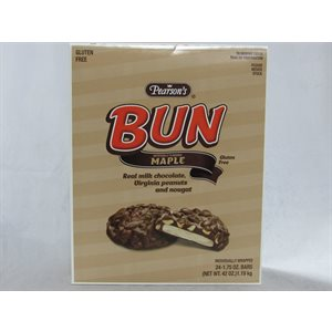 BUN BAR MAPLE 24CT