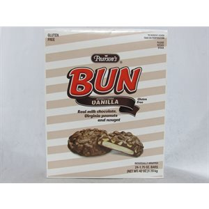 BUN BAR VANILLA 24CT