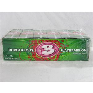 BUBBLICIOUS WATERMELON 18CT