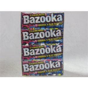 BAZOOKA WALLET PACK 12CT