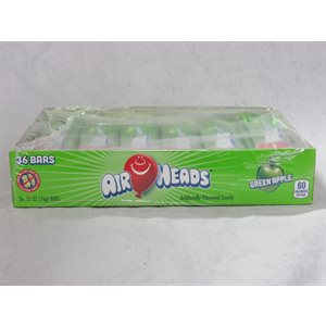 AIRHEADS GREEN APPLE 36CT