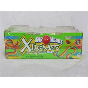 AIRHEADS XTREME BELT RAINBOW BERRY 18CT