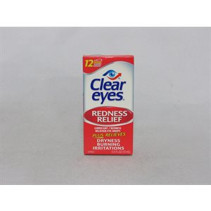 CLEAR EYES REDNESS .5OZ