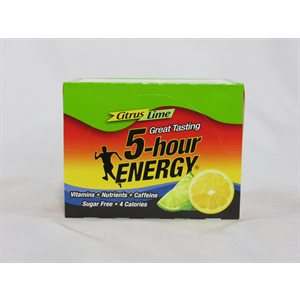 !5-HOUR ENERGY CITRUS LIME 12CT