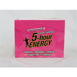 5-HOUR ENERGY PINK LEMONADE 12CT