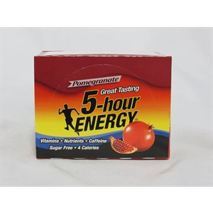 5-HOUR ENERGY POMEGRANTE 12CT