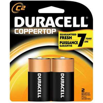 DURACELL C 2PK / 8CT - USA