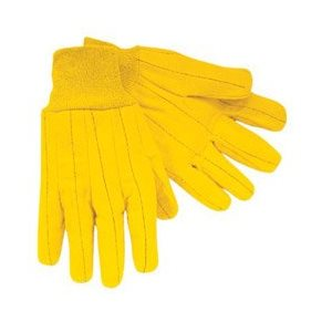 GLOVES YELLOW CHORE 12CT