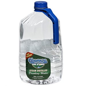 ABSOPURE DISTILLED WATER 128OZ / 6CT