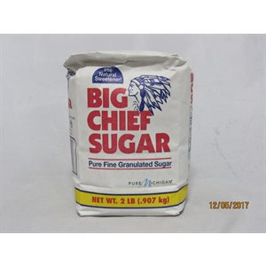 BIG CHIEF SUGAR 2LB EACH