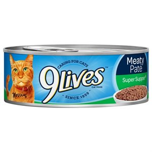 9-LIVES MEATY SUPER SUPPER 5.5OZ / 24CT