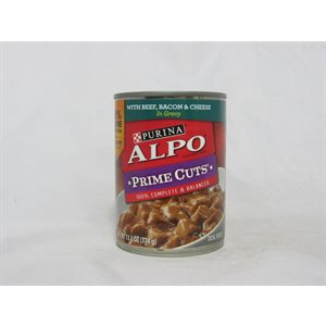 ALPO DOG BEEF / CHEESE / BACON 13OZ / 12CT