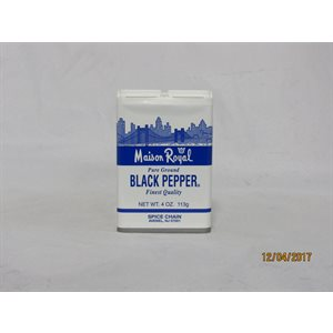 BLACK PEPPER 4OZ EACH