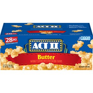 ACT II BUTTER 28CT
