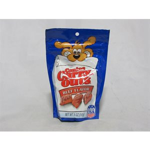 CARRY OUTS DOG SNACKS BEEF 5OZ