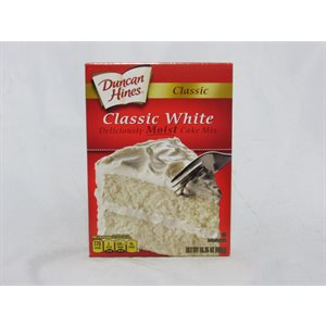 DUNCAN HINES CAKE MIX WHITE EACH