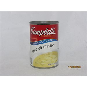 CAMPBELL BROCCOLI CHEESE 10.5OZ