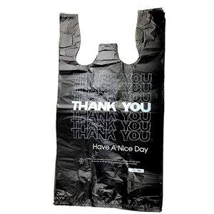 1 / 6 THANK YOU BAG BLACK 800CT