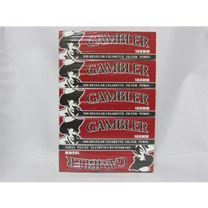 GAMBLER 100mm TUBE REGULAR 5CT