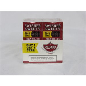 SWISHER CIGARILLO TWIN PK