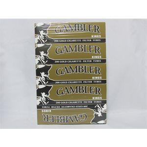 GAMBLER TUBES GOLD 5CT
