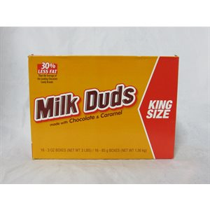 !KING MILK DUDS 16 CT