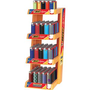 LIGHTER-BIC 4 TIER DISPLAY
