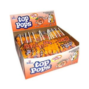 !DORVAL TOP POPS PEACH 48CT