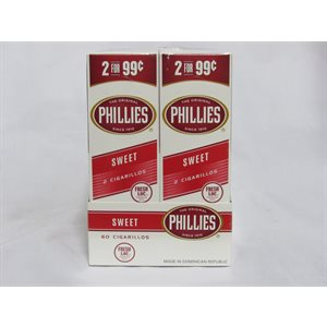 !PHILLIES CIGARILLOS SWEET 2 / 99