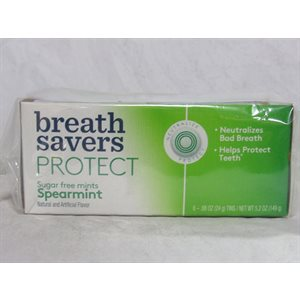 BREATH SAVER PROTECT SPEARMINT 6CT
