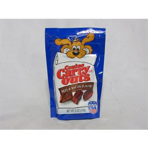CARRY OUTS BEEF / BACON TREAT 5OZ