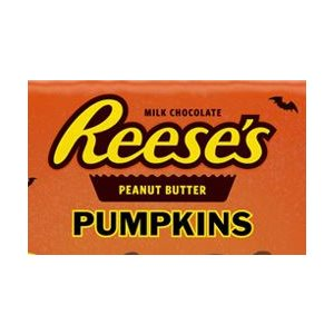 *REESE PB PUMPKIN 6OZ TRAY 12