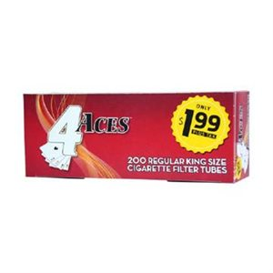 4 ACES TUBES REGULAR $1.99 5CT