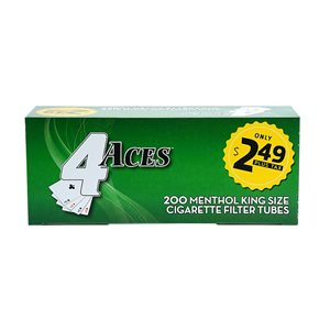 4 ACES TUBES MEN $2.49 5CT