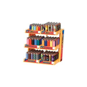 LIGHTER- BIC 6 TIER DISPLAY