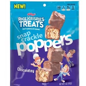 RICE KRISPIES POPPERS CHOCOLATE 5OZ