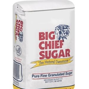 BIG CHIEF SUGAR 5LB CS / 8