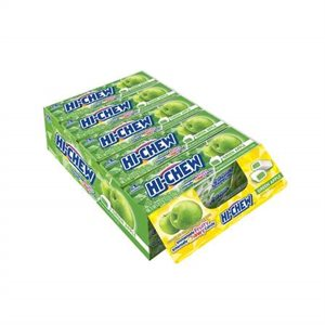 *HI-CHEW GREEN APPLE STK 15CT