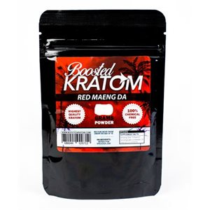BOOSTED KRATOM 250G POWDER RED MAENG EA
