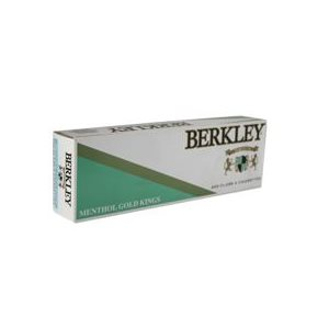 BERLEY MENTHOL GOLD KING BOX