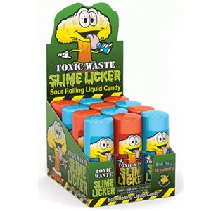 *TOXIC WASTE SLIME LICKER 12CT