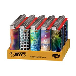 LIGHTER-BIC BOHEMIAN 50CT
