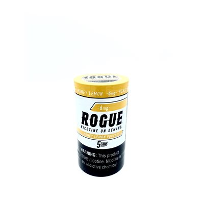 ROGUE NICOTINE POUCH HONEY LEMON 6MG 5CT